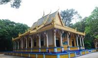 Pagoda Doi, arquitectura característica jemer en el sur de Vietnam