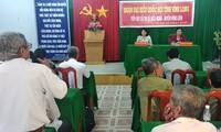 La vicepresidenta vietnamita se reúne con electores de Vinh Long