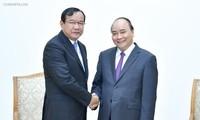 Profundizan relaciones de vecindad y amistad entre Vietnam y Camboya