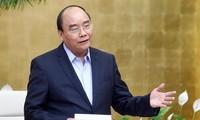 Premier vietnamita pide impulsar innovación para el cumplimiento de planes socioeconómicos