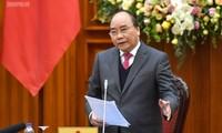 Premier vietnamita propone tareas del Grupo de Trabajo del Gobierno