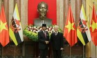 Vietnam y Brunei comparten interés en vigorizar cooperación bilateral