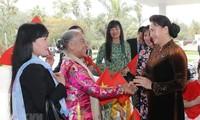 Presidenta parlamentaria de Vietnam visita Marruecos