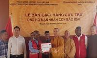 Sangha Budista de Vietnam entrega ayuda humanitaria a víctimas del ciclón Idai en Mozambique