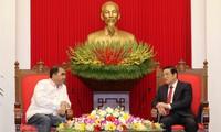 Vietnam y Panamá interesados en afianzar cooperación partidista
