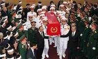 Efectúan acto funeral en homenaje al teniente general Dong Sy Nguyen