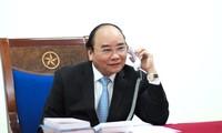 Premier vietnamita felicita a Laos y Camboya por su Año Nuevo