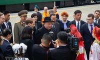 Kim Jong-un cruza frontera rusa para encuentro con Vladimir Putin