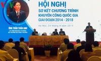 Revisan 5 años del despliegue del Programa de Promoción Industrial Vietnam