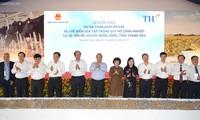 Inician proyecto de granja lechera en Thanh Hoa