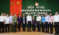 Continúan contactos entre dirigentes vietnamitas y electores