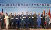 Vietnam comparte enfoque sobre la Declaración de Comportamiento de las partes en el Mar Oriental