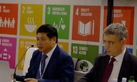Vietnam comprometido a ser factor positivo en cooperación internacional