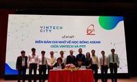 Estudiantes emprendedores de Vietnam ante oportunidades de desarrollo en tecnología