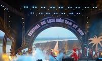 Inauguran Festival de Turismo Marítimo Tam Ky 2019