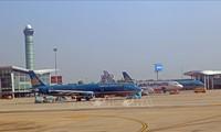 Transporte aéreo de Vietnam mantiene crecimiento en lo que va del año