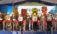 Inauguran planta fotovoltaica Fujiwara en localidad central de Vietnam