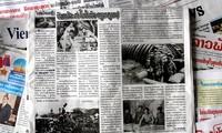 ラオス紙、ディエンビエンフー作戦勝利を讃える