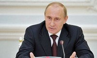プーチン大統領 シリア空爆の正当性を強調