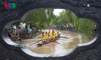 ハインティエン村のボートレース