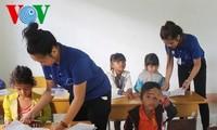 青年ボランティア、ダクラク省の「青い夏」活動