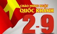 国外在留ベトナム人、独立記念日を祝う