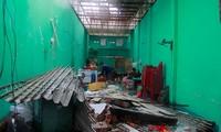 台風第12号被害の克服作業