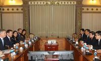 HCM市、イギリスとの貿易・文化協力を強化
