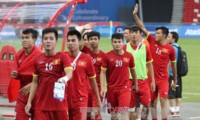 サッカーU23アジア選手権 ベトナム代表 出陣