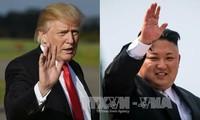 トランプ大統領 朝鮮民主主義人民共和国との対話に開けた姿勢をアピール