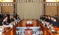 HCM市、愛媛県との協力を強化