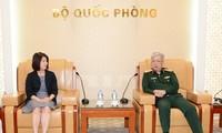 ビン国防次官、日本外務省の代表団と会見
