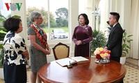 ティン国家副主席、豪・ビクトリア州の指導者と会見