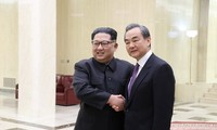 北メディアが中朝会談報道「非核化」触れず