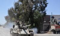 シリア政権軍、首都と近郊を掌握 ISの残党掃討