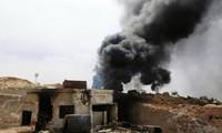 シリア「軍用空港が敵のミサイルで攻撃された」