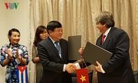 ベトナム・キューバ、放送分野で協力を強化