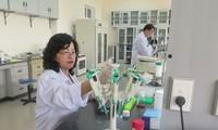 研究に夢中ある女性科学者のテーマ