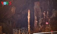 ハザン省のルンクイ(Lung Khuy)鍾乳洞