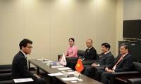 国会対外委員長、日本を訪問