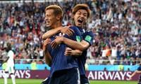 W杯 日本代表決勝T進出 おめでとう!!!