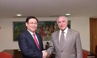 フエ副首相 ブラジルを公式訪問