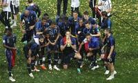 フランスがクロアチアに4-2で勝利、20年ぶりのW杯制覇