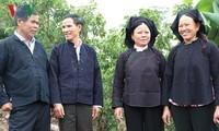 バクザン省のヌン族の誕生日祝い