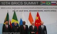 """BRICS 首脳宣言を採択 """"保護主義""""を懸念"""