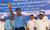 カンボジア総選挙 国民の願望を示す
