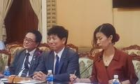 HCM市の指導者、日本の中根外務副大臣と会見
