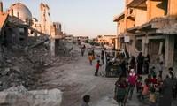 米、シリア復興支援拠出を中止=早期撤退否定、IS掃討継続