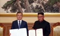 朝鮮国営メディア 南北首脳会談は「画期的な転換点」
