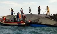 フェリー転覆 136人死亡、タンザニア ビクトリア湖